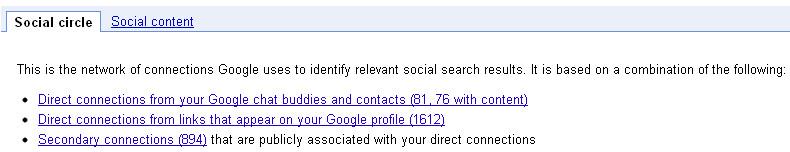 Google Social Circle