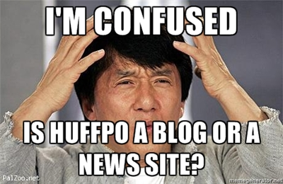 Confused Jackie Chan - Blog or News Site