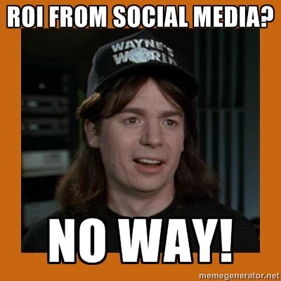ROI from social media