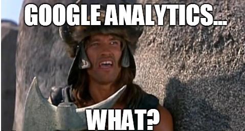 Google Analytics and Conan