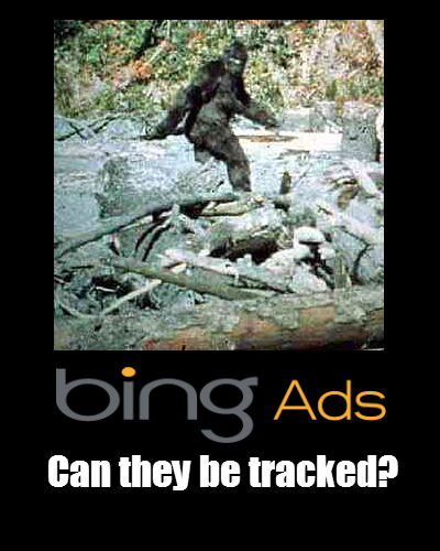Tracking Bing Ads