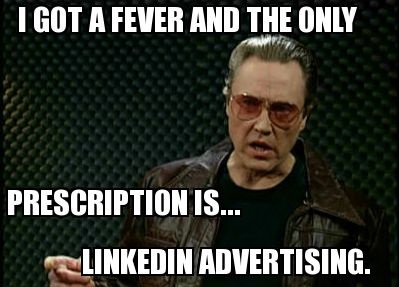 Christopher Walken LinkedIn