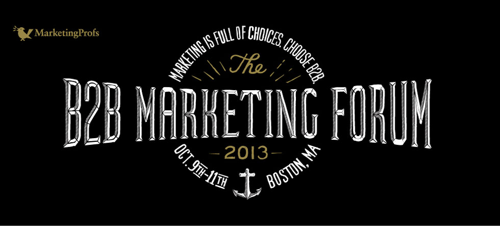 MarketingProfs B2B 2013