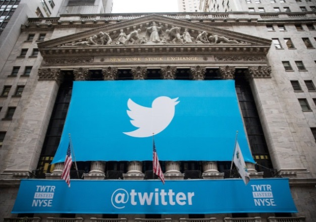 Twitter's IPO at the NY Stock Exchange