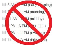 Bing Ads - Ad scheduling