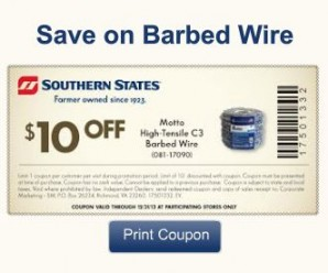 Southern States Coupon Banner Example2