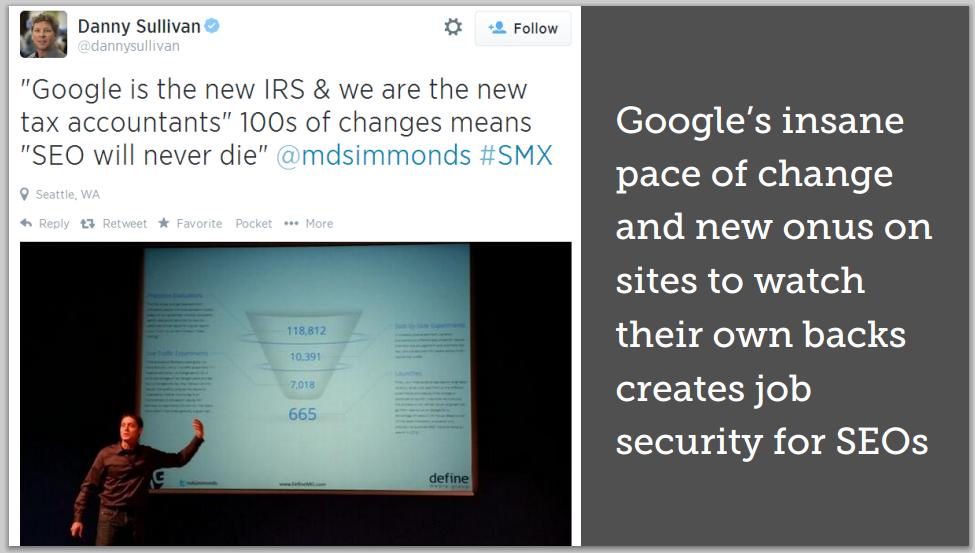 Google Spam: MozCon 2014