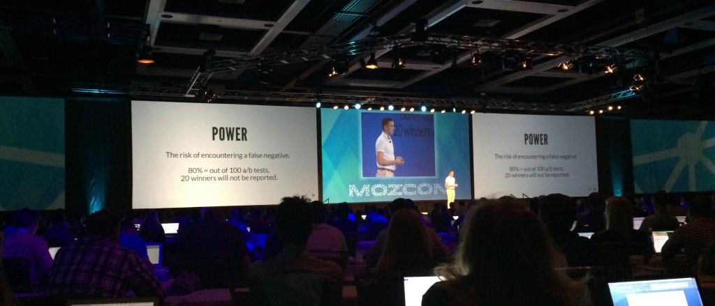 ab testing: MozCon 2014