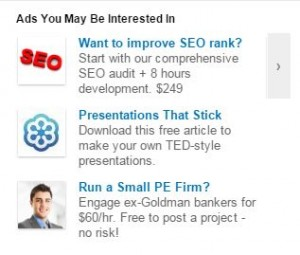 LinkedIn Self-Serve Ads