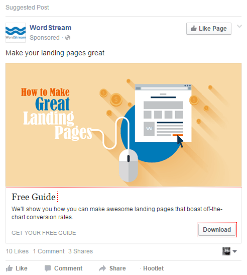 Social-Media-Advertising-Suggested-Post