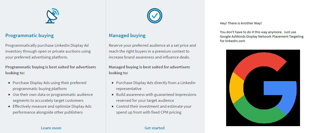 This is the screen you will never see on LinkedIn. But it's now an option.
