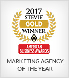 2017 Stevie Award Winner - Marketing Agency of the Year