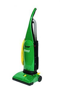 It's a vacuum cleaner that's colored green.